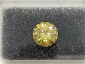 Diamond 1.59 CT. GIA Cert Fancy Deep Yellow Even Treated Color VS2